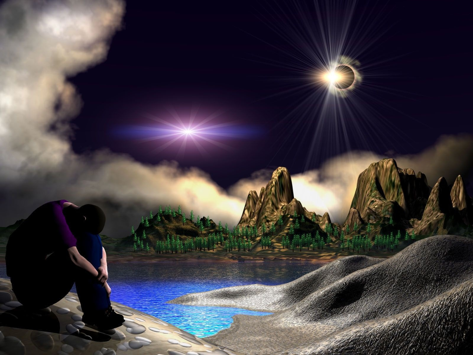 3d alone boy wallpapers 1600x1200 460153 for 3d wallpaper for boys