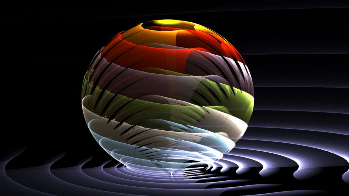 3d color ball 1366 x 768 download close