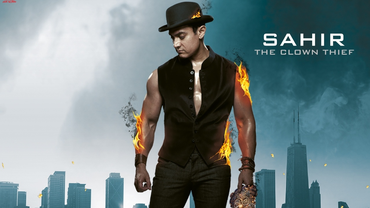 Aamir Khan In Dhoom 3 Movie   1280 x 720   Download   CloseAamir Khan In Dhoom 3 Sets