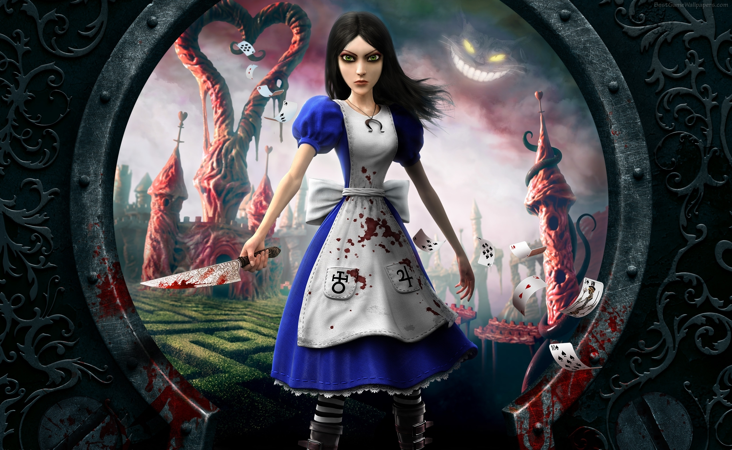 an analysis of madness in alice in wonderland Alice's adventures in wonderland chapter 6 table summary and analysis chapter 6 not surprised at the cat's vanishing does indicate a kind of madness on.