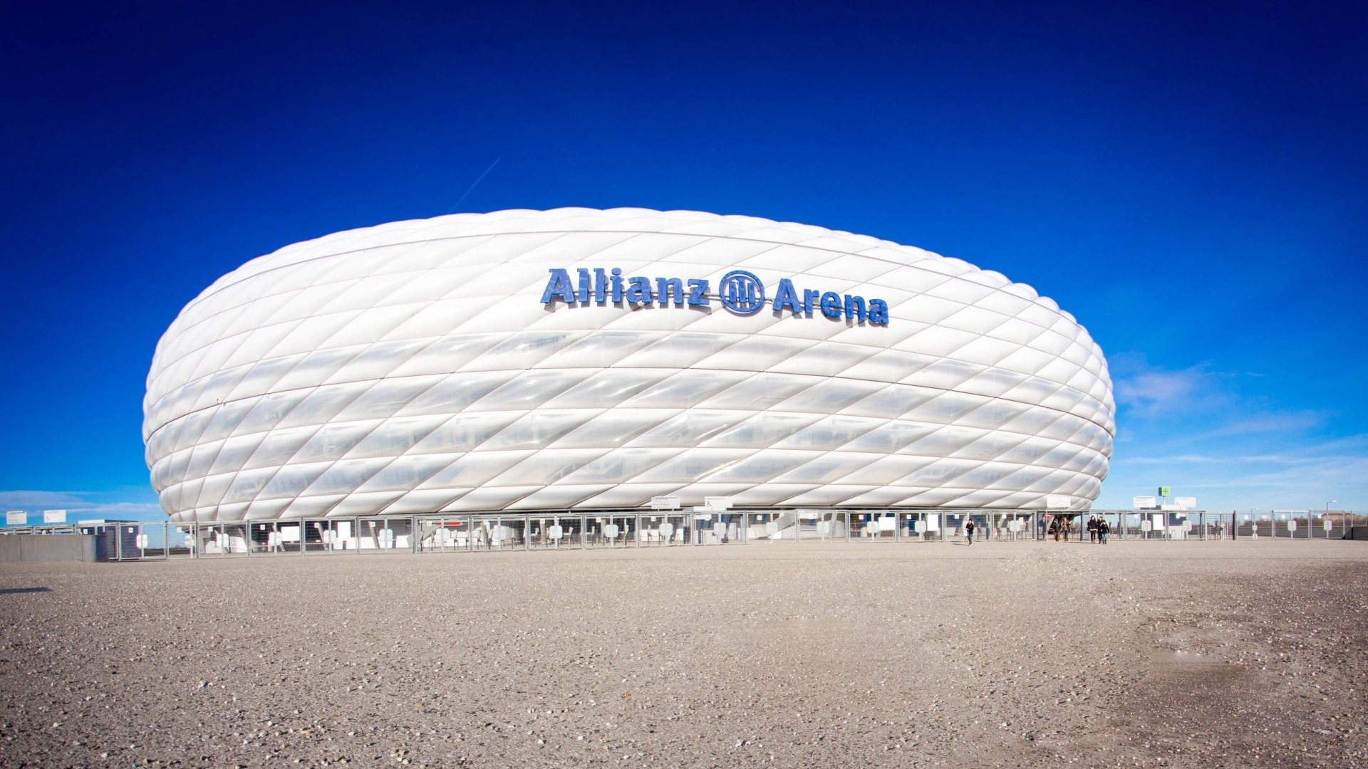 allianz arena stadium munich wallpapers 1920x1080 615527. Black Bedroom Furniture Sets. Home Design Ideas