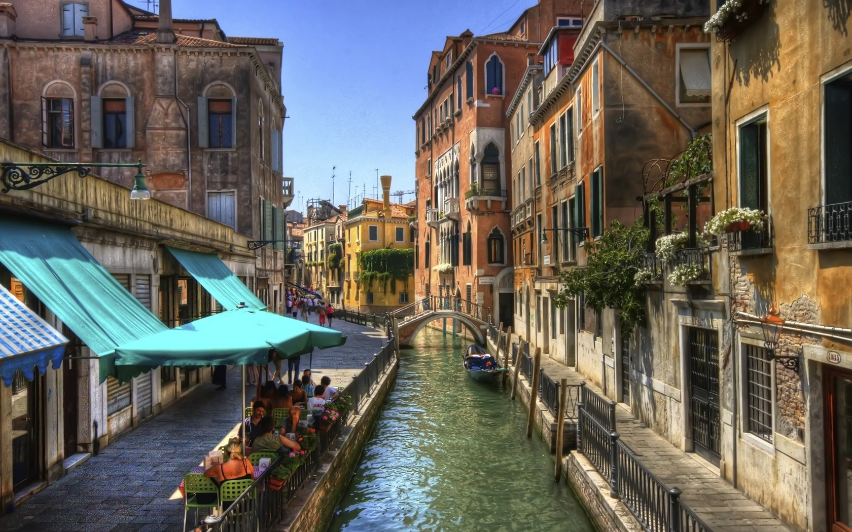 Amazing venice italy channel wallpapers 1680x1050 685214 for Italy wallpaper