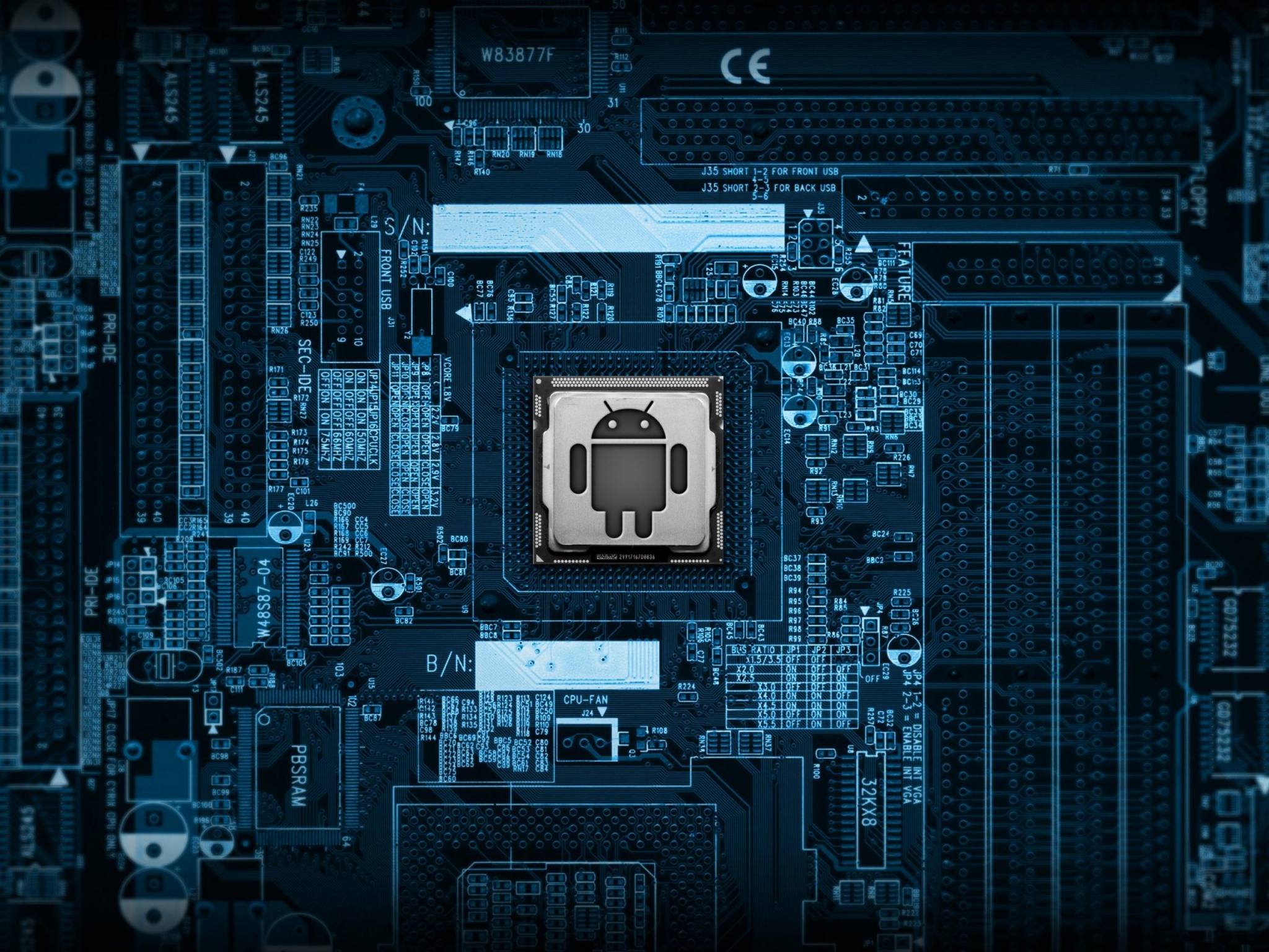 android motherboard wallpapers - 2048x1536 - 1044489