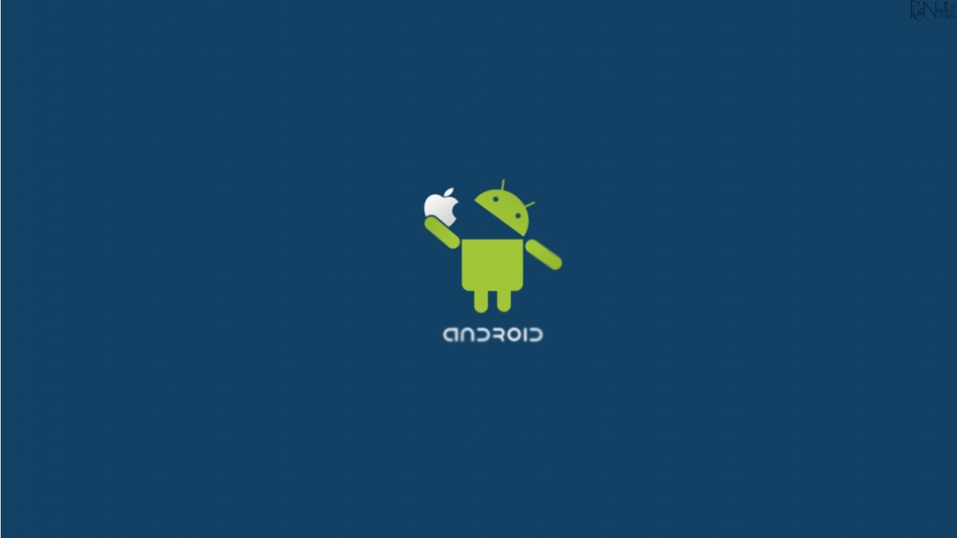 Android Vs Apple 2012 Wallpapers