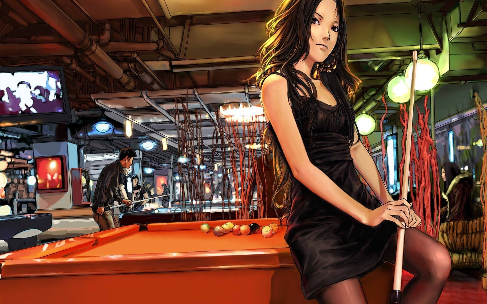 billiards anime wallpaper - photo #3