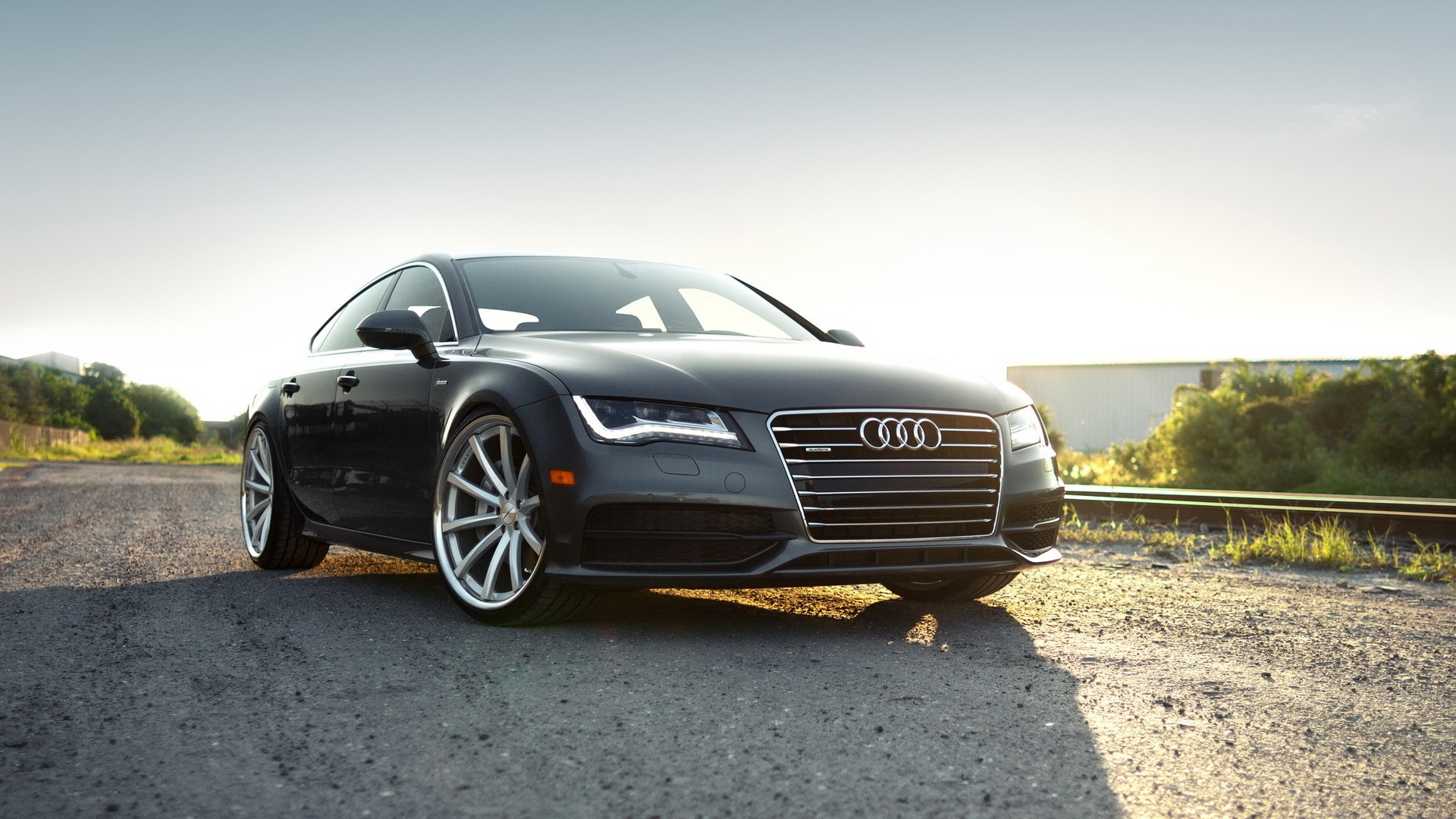 Audi A7 Sportback Showing Wallpapers 1920x1080 634848