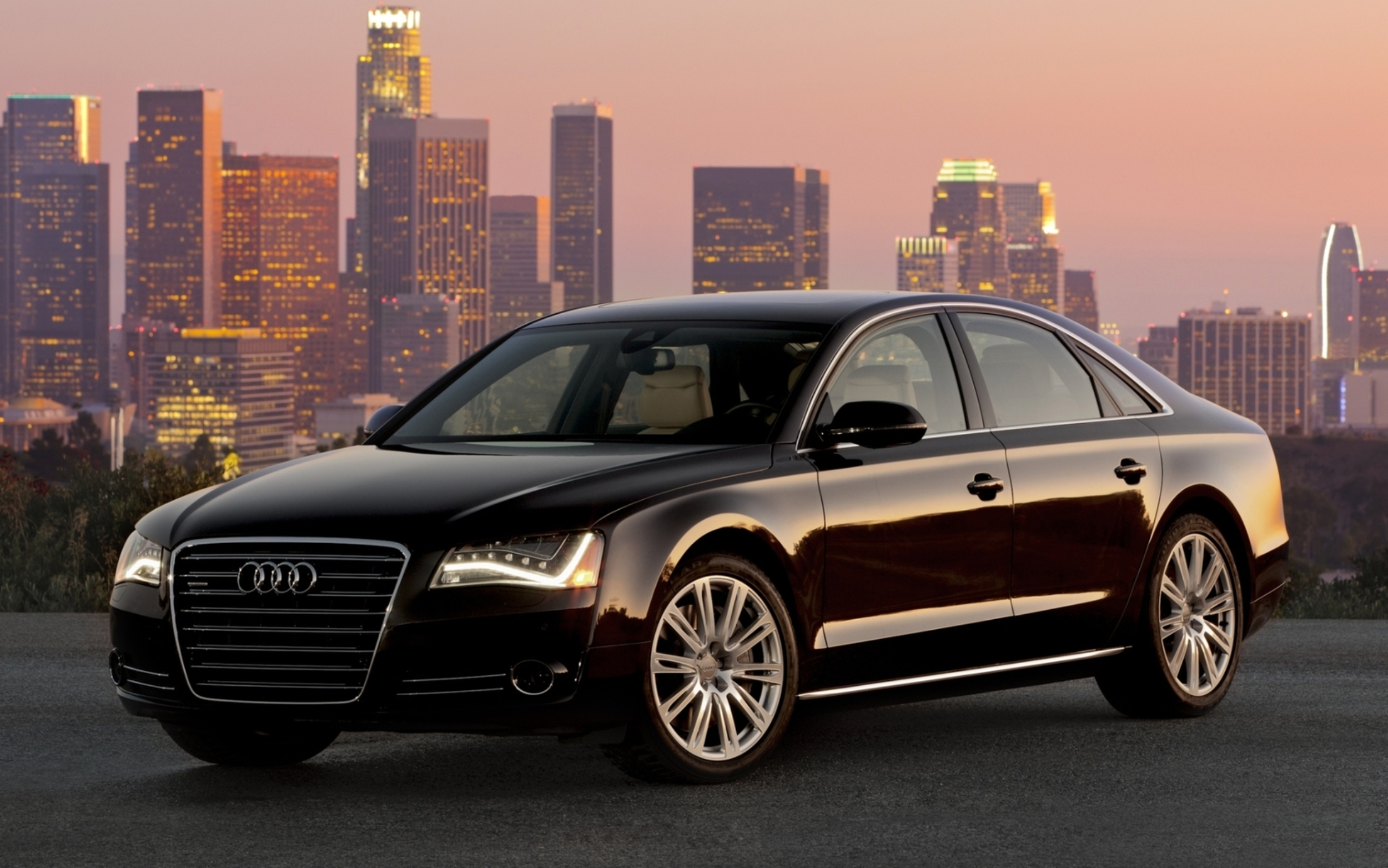 Audi A8 Black Car Wallpapers 2500x1563 1755615