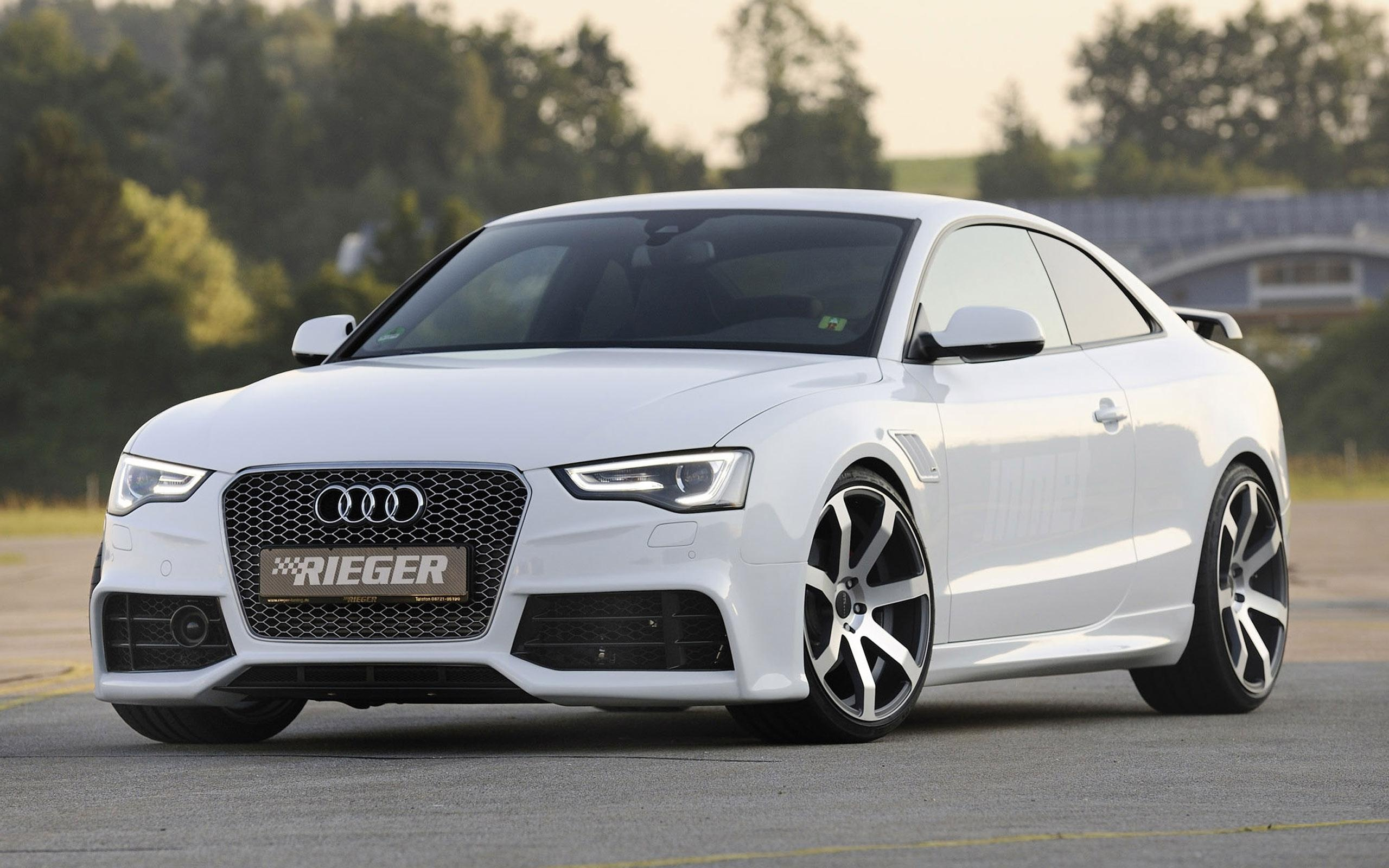 Audi Rieger White Car Wallpapers 2560x1600 737993