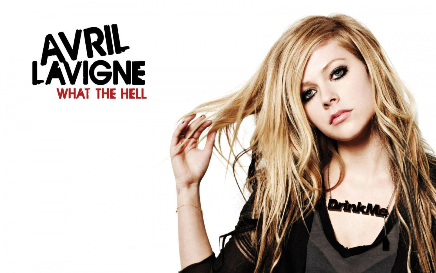 Avril Lavigne - What The Hell | 1440 x 900 | Download | Close