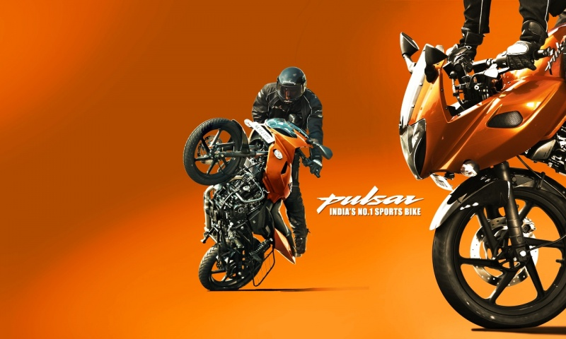 Bajaj Pulsar 220 Stunts Wallpapers 800x480 121571