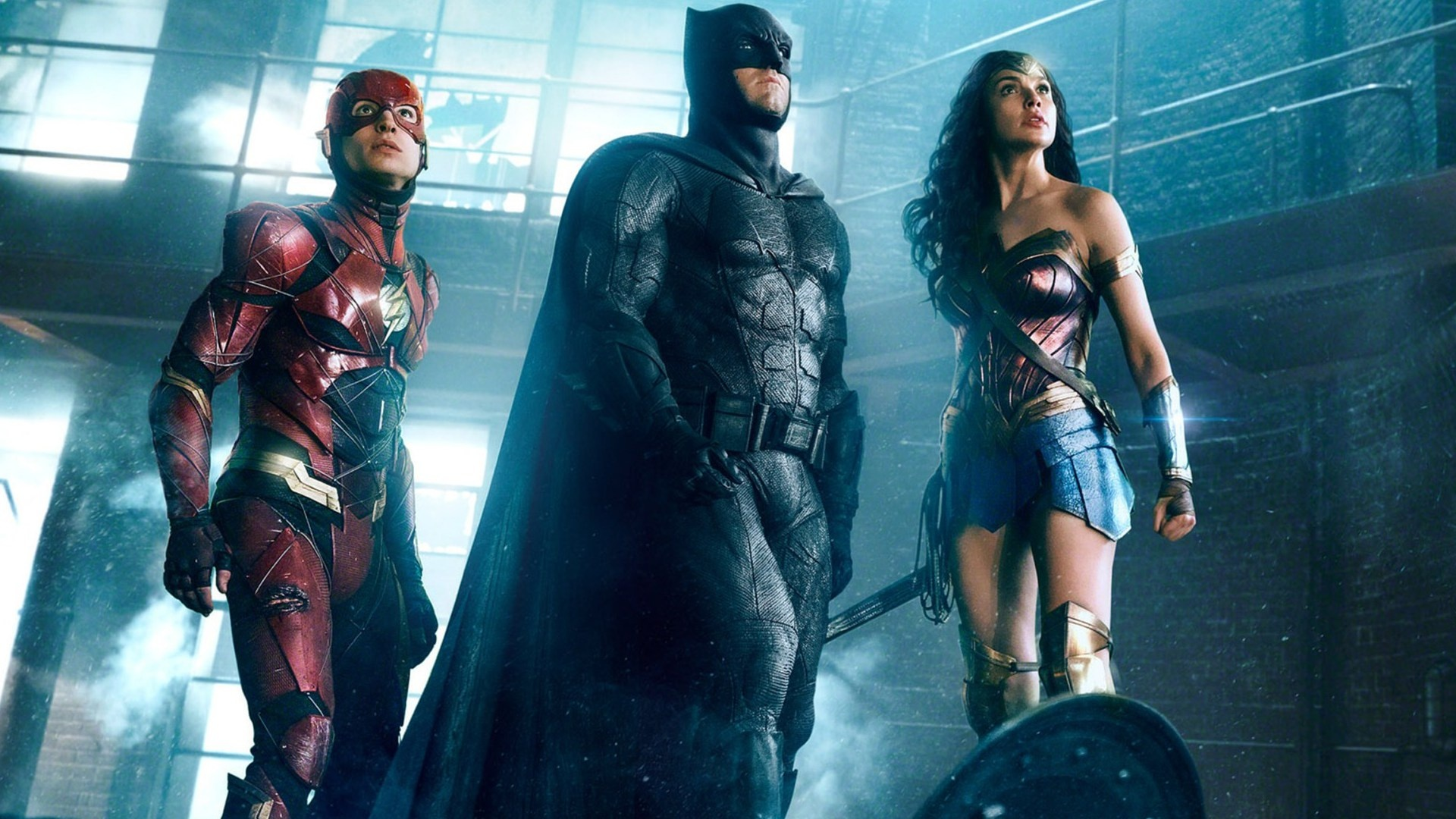 Batman Wonder Woman And The Flash Justice League Wallpapers