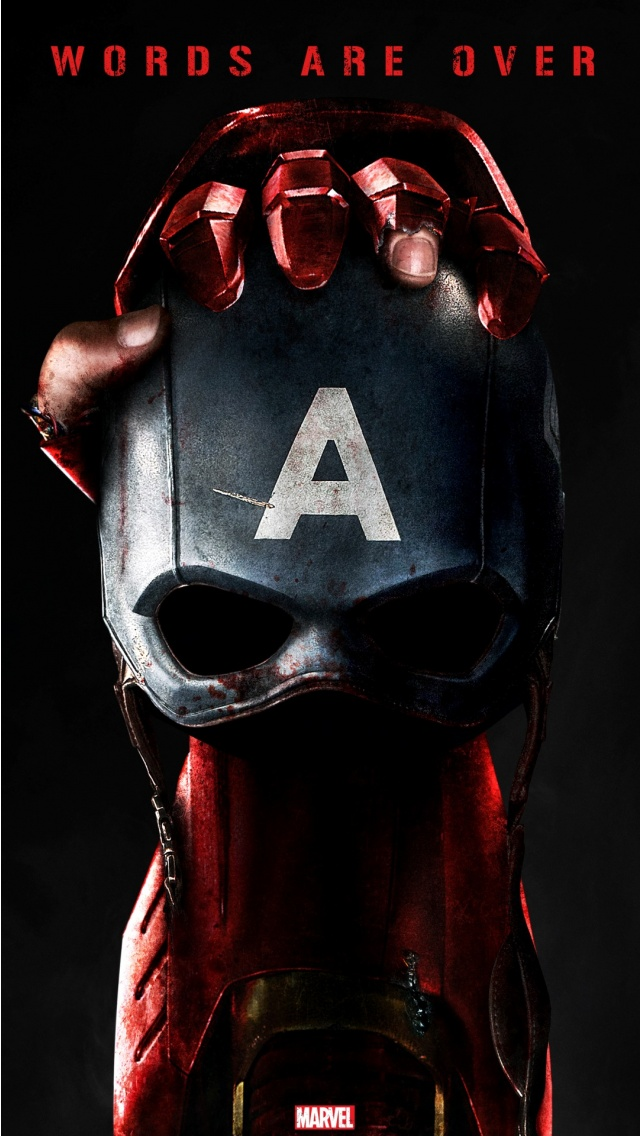 Captain America Civil War Poster Wallpapers 640x1136 210827