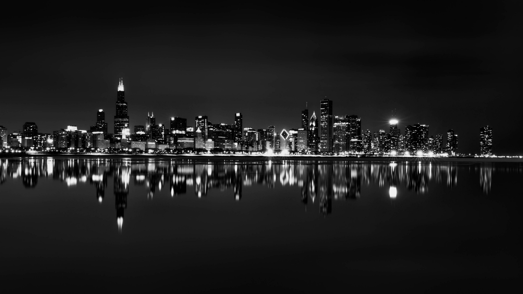 Fantastic Wallpaper Mac Chicago - chicago_skyline_backgrounds-2048x1152  Photograph_3216100.jpg
