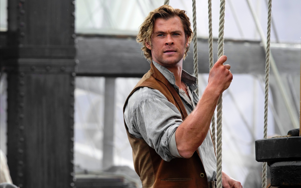 chris hemsworth in in the heart of the sea 2015 wallpapers