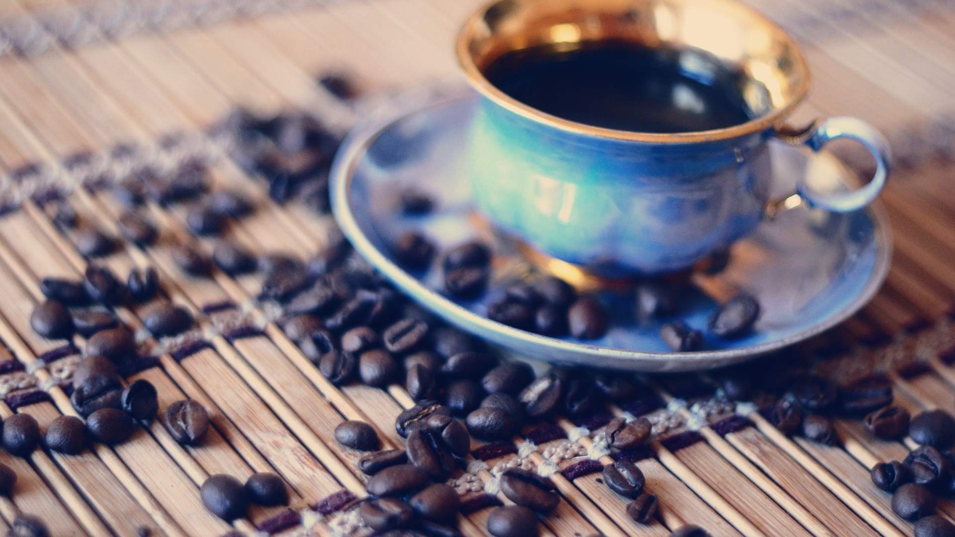 Coffee Beans Cup Wallpapers - 1920x1080 - 609998
