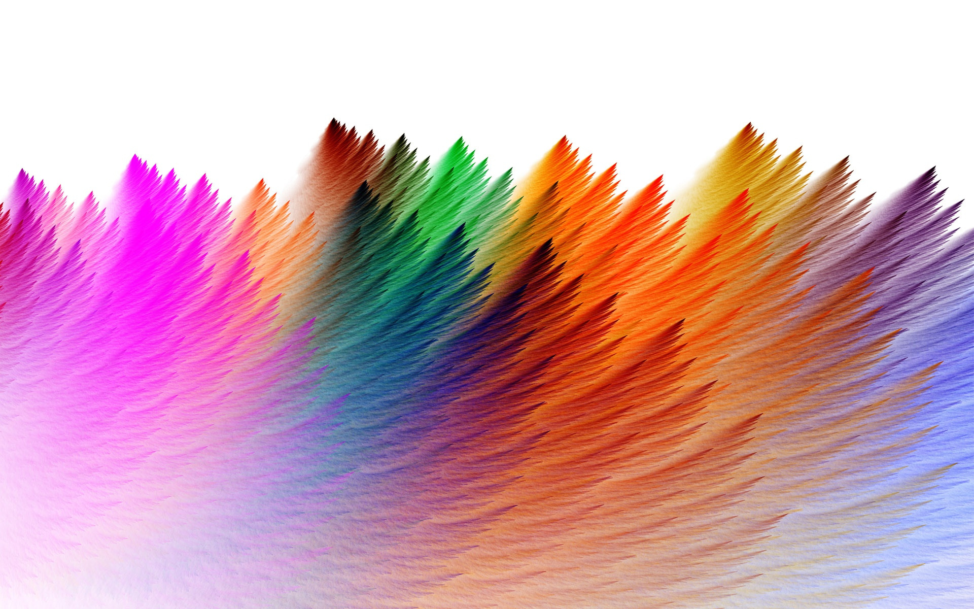 Colorful Feathers Abstract Wallpapers - 1920x1200 - 712752