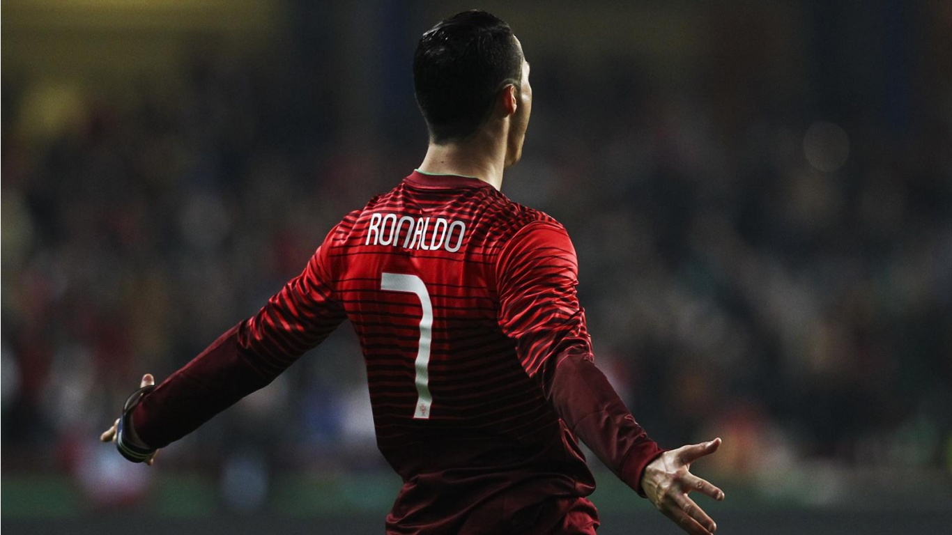 Cristiano ronaldo portugal 2014 wallpapers 1366x768 216485 - C ronaldo wallpaper portugal ...