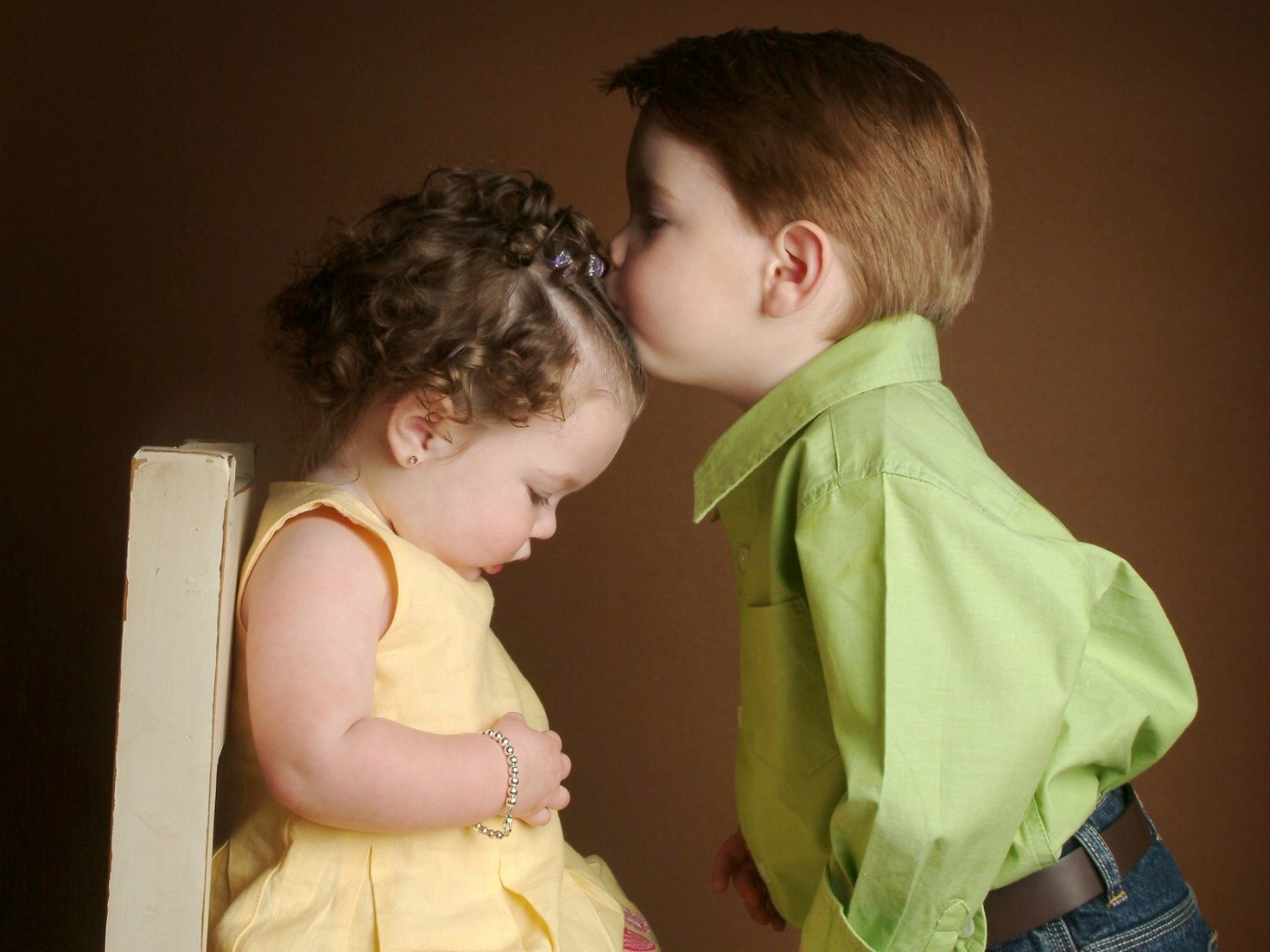Cute Baby Boy and Girl