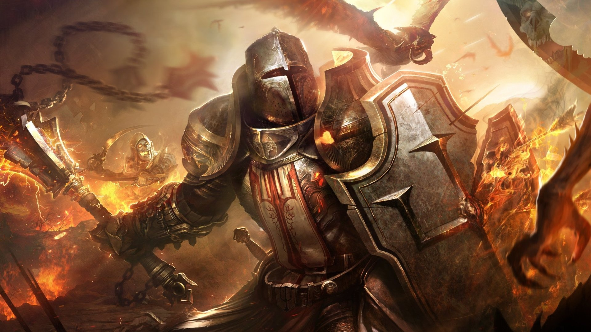 Diablo 3 Crusader Wallpaper 1920x1080 Diablo III Reaper Of S...
