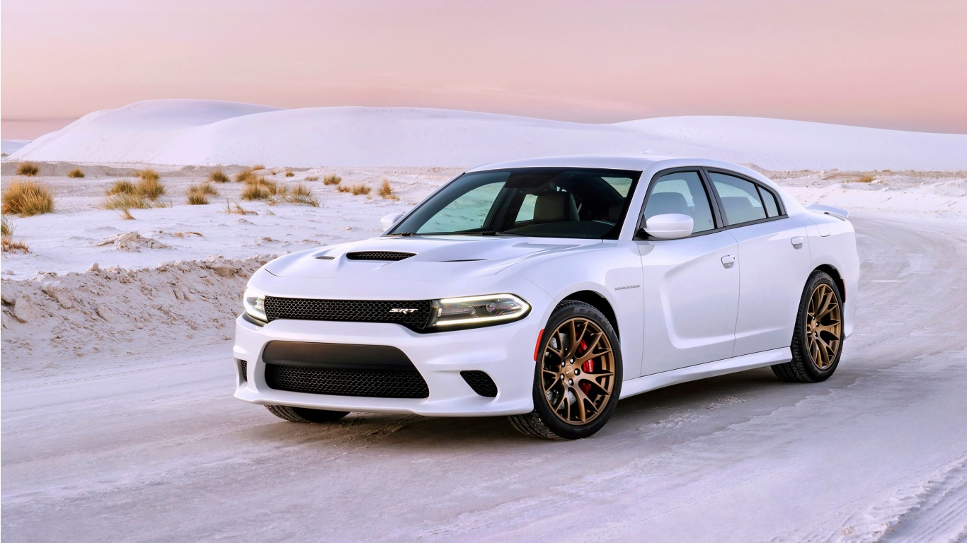 Dodge Charger Srt Hellcat 2015 Wallpapers 1366x768 306293