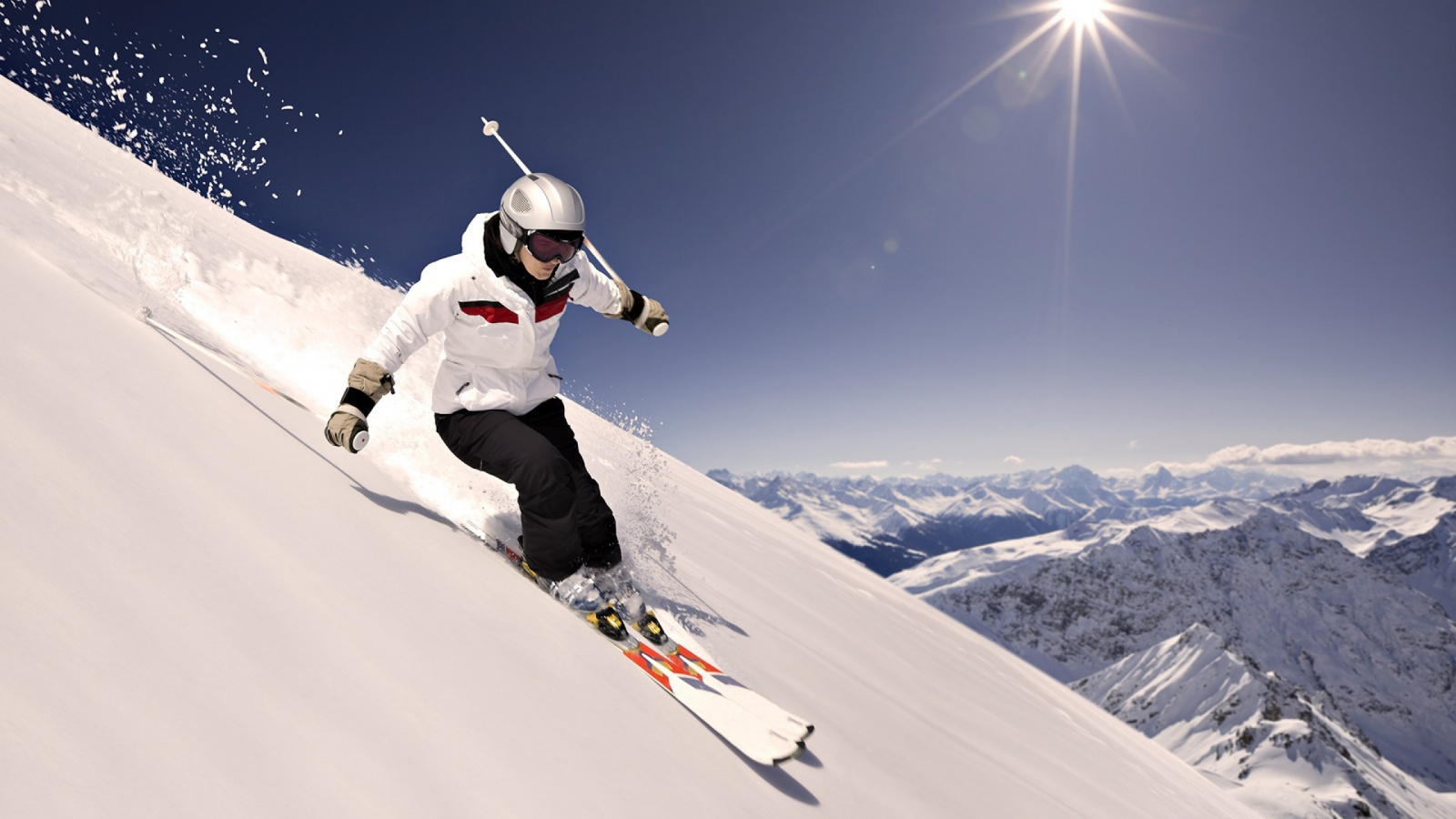 Downhill skier wallpapers