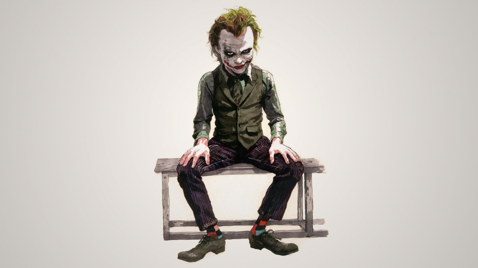 Evil Joker Cartoon Wallpapers 1600x900 205162