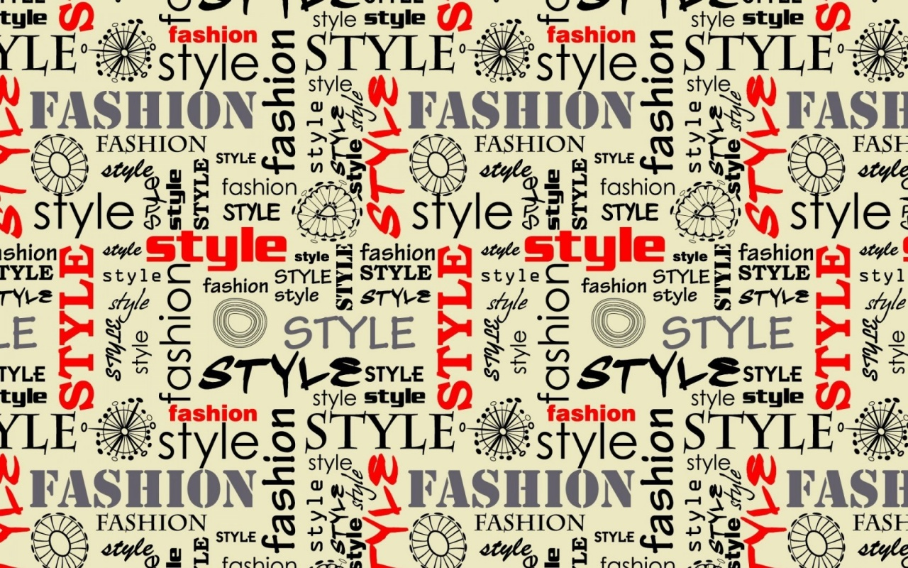 Fashion Style Words Letters Wallpapers 1280x800 543394