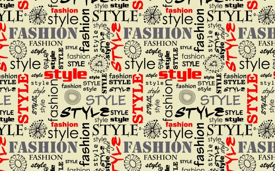 Fashion Style Words Letters Wallpapers 960x600 361607