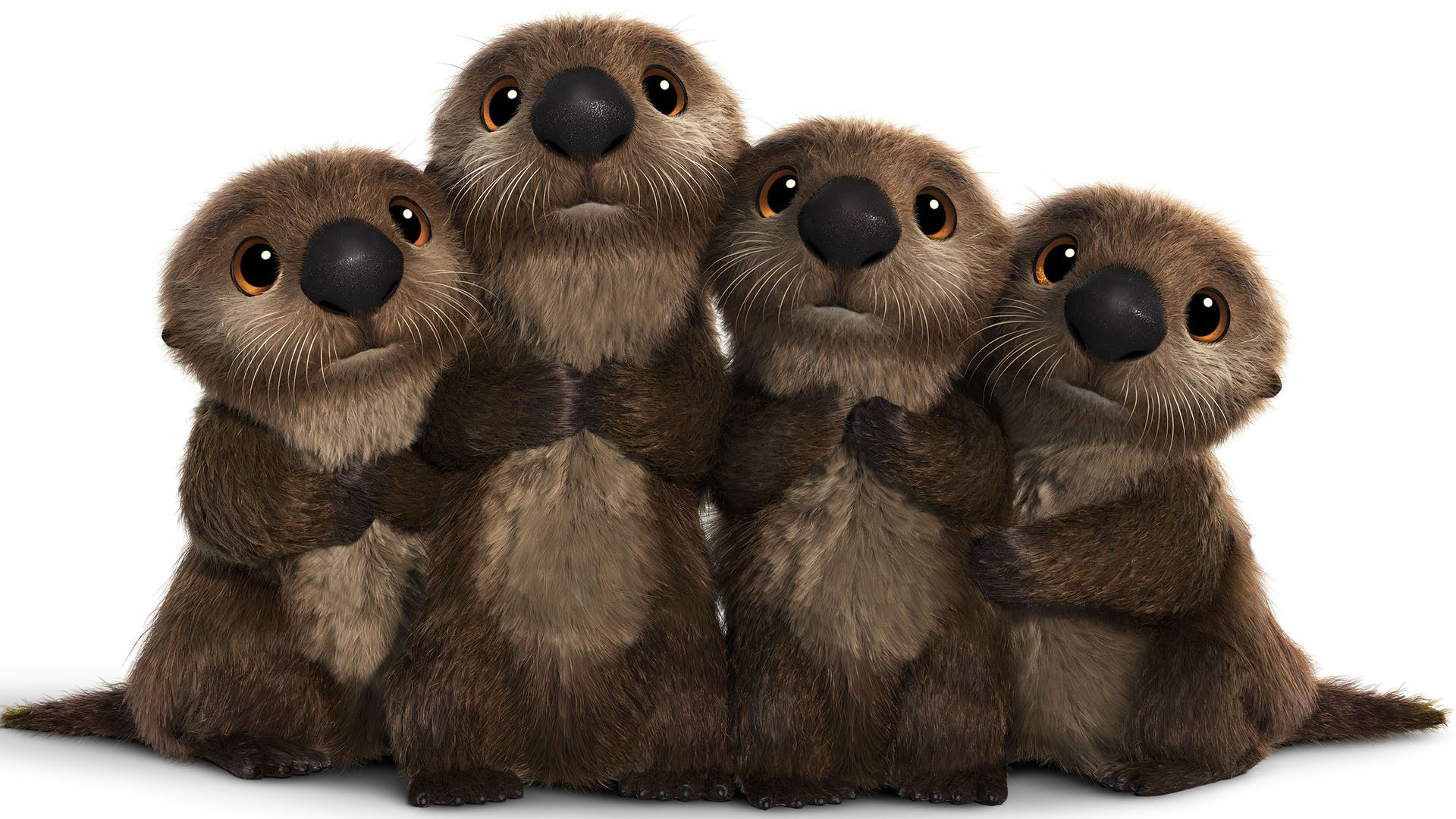 Finding Dory Otters Wallpapers 1920x1080 596355