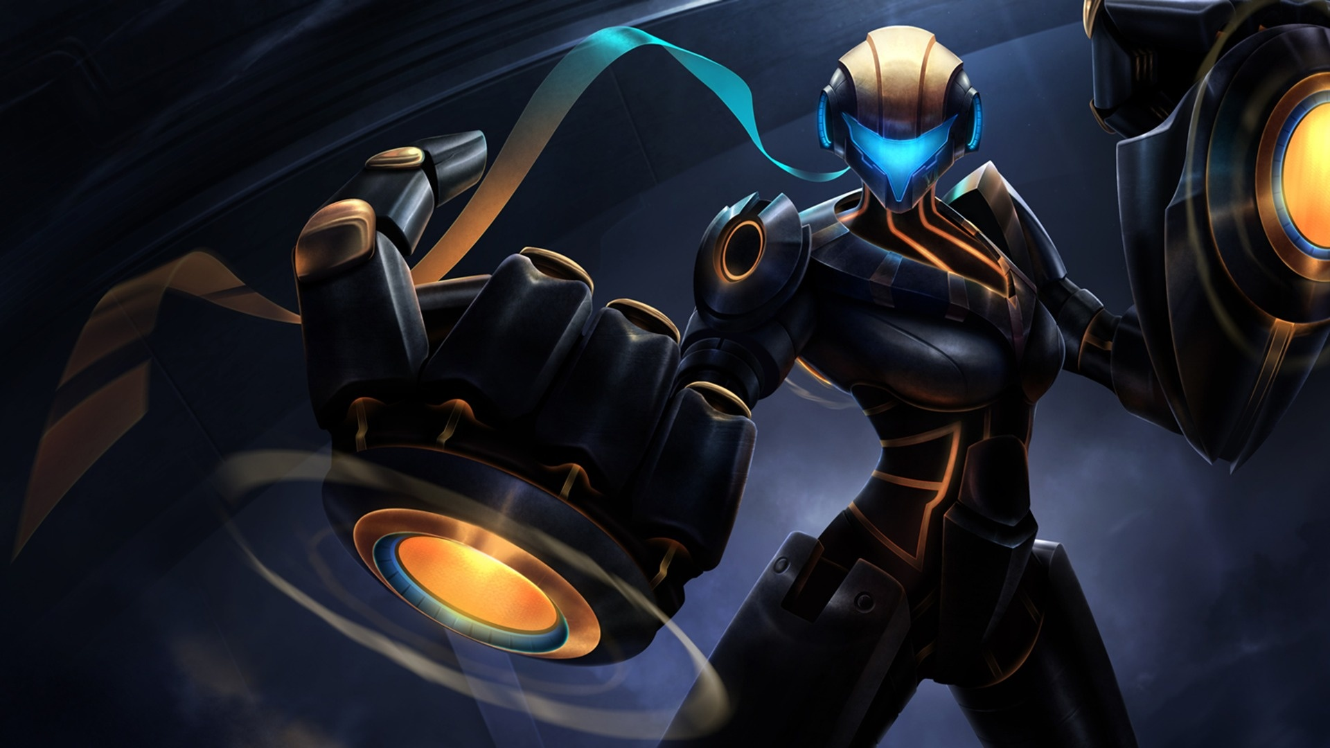 Full Metal Vi Skin League Of Legends Wallpapers 1920x1080 336549