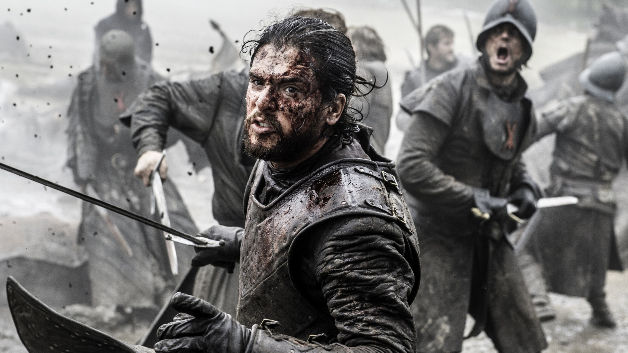 Game Of Thrones Battle Of The Bastards Jon Snow Wallpapers