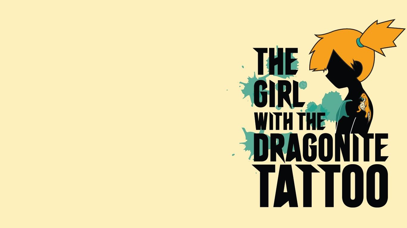 Girl With Dragonite Tattoo Wallpapers 1366x768 92482