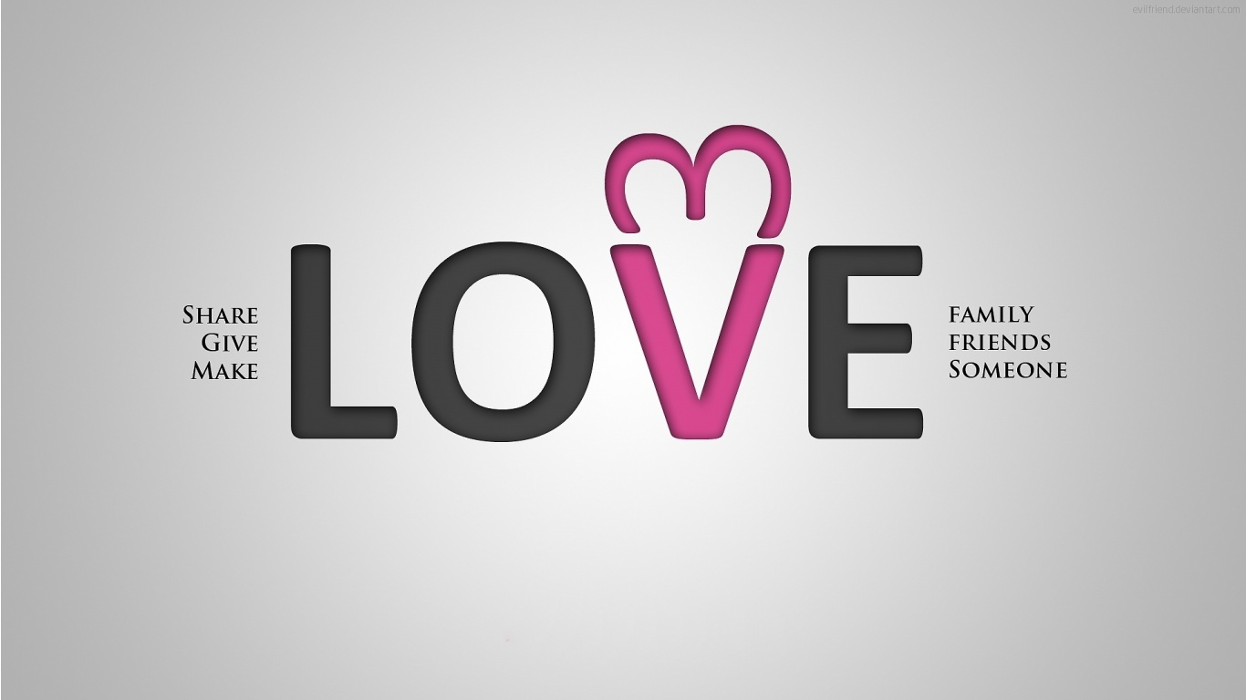 Give Make Love Wallpapers - 1366x768 - 115869
