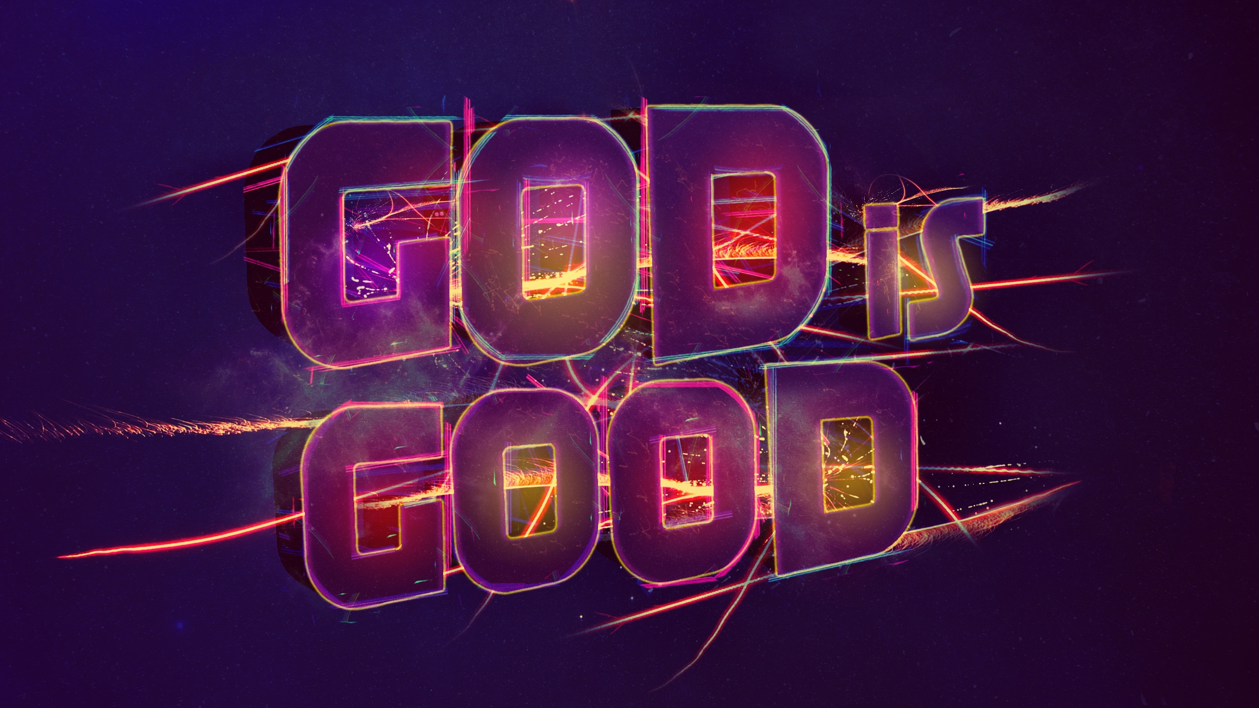 God is good wallpapers 2560x1440 965670 - Download god is good all the time ...