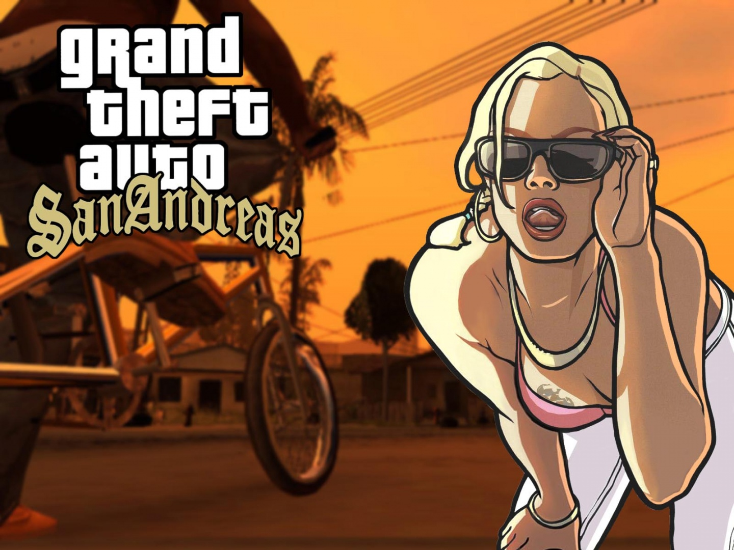 Grand Theft Auto San Andreas Wallpapers 1440x1080 373391