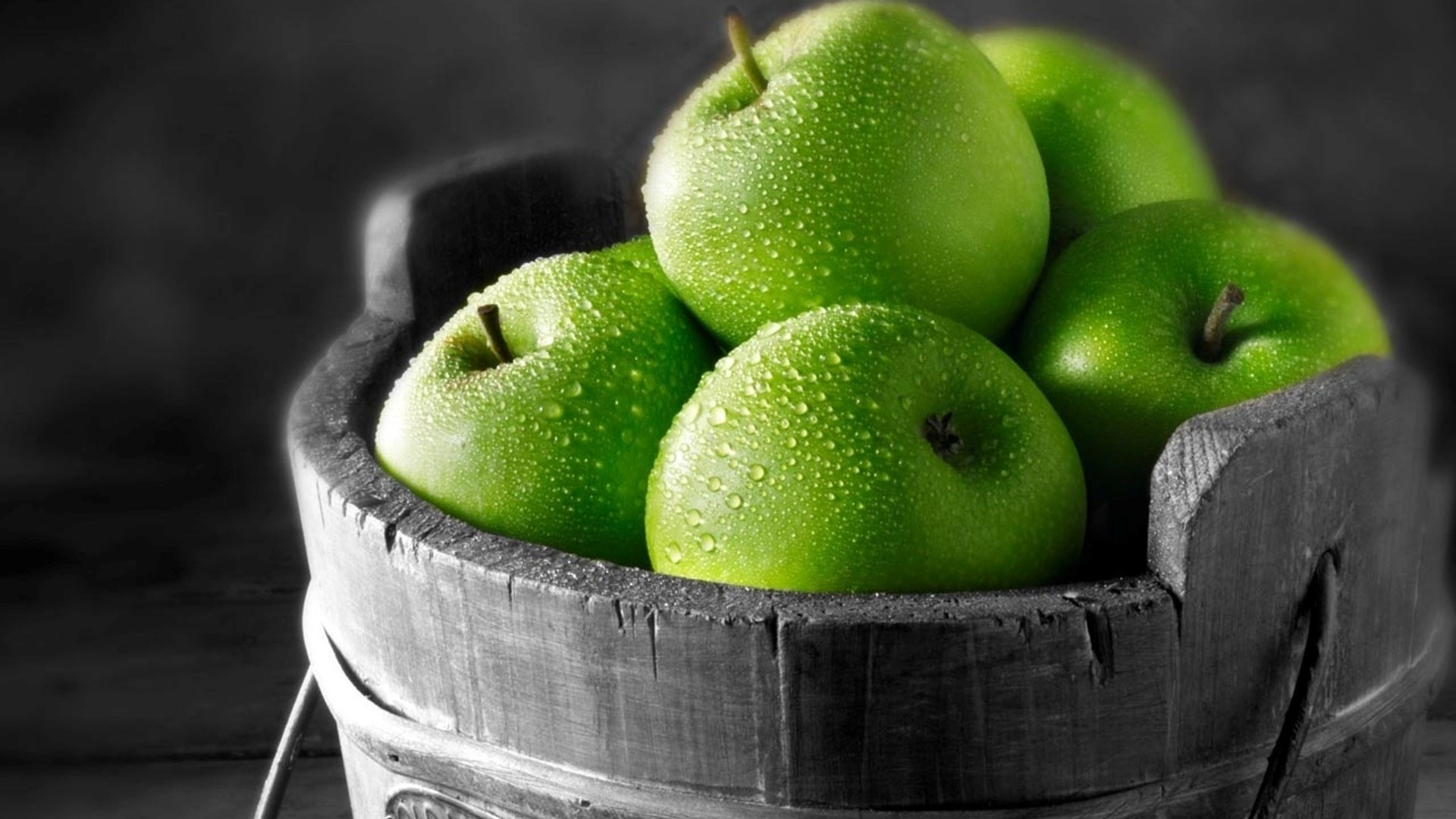 View Green Apple Fruit