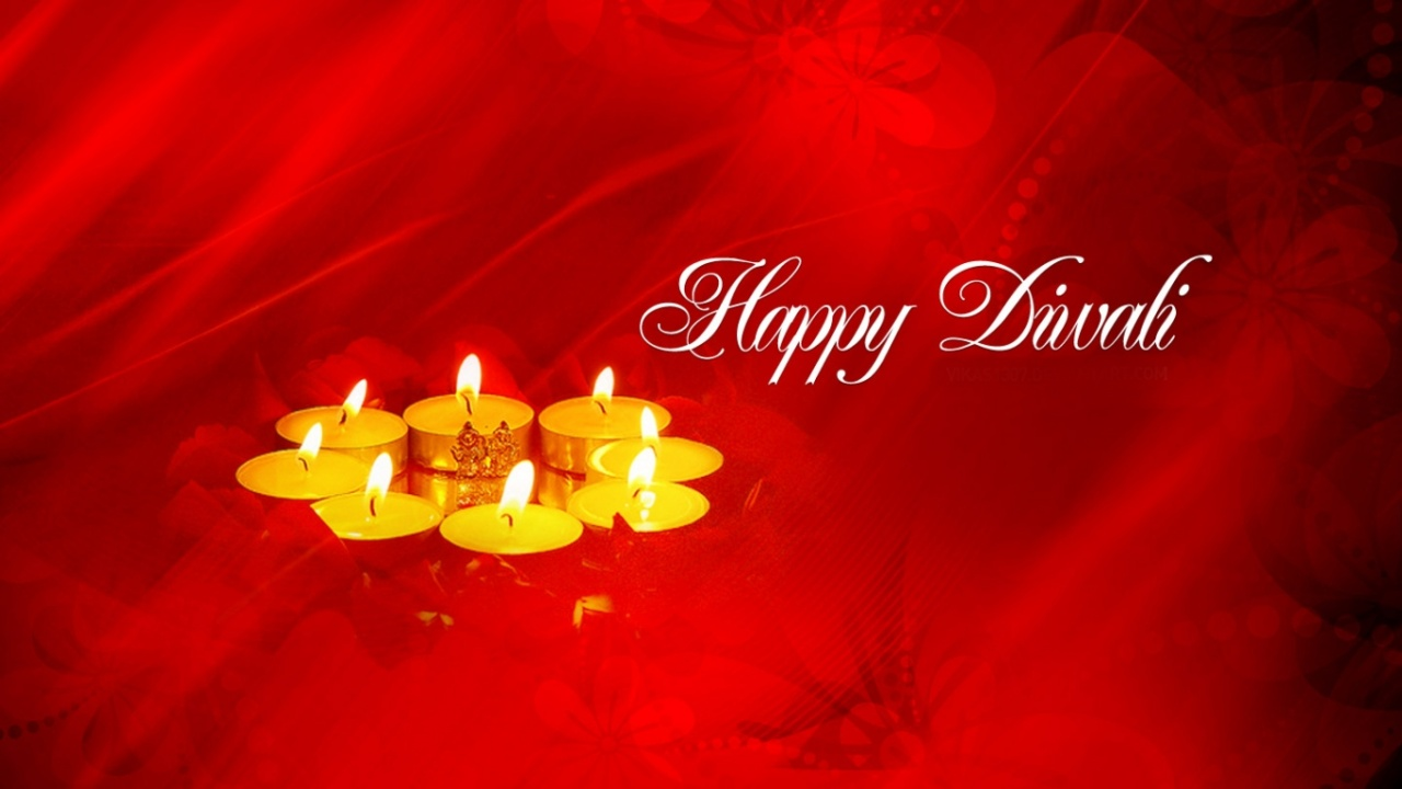 Amazing Wallpaper Love Diwali - happy_diwali_red_background-1280x720  You Should Have_905145.jpg