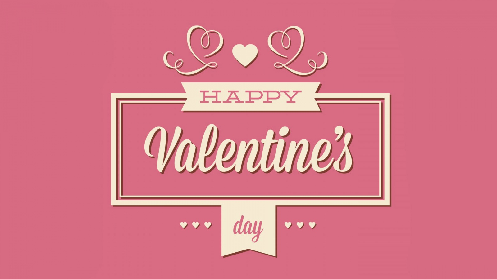 Happy Valentines Day Greeting Wallpapers - 1600x900