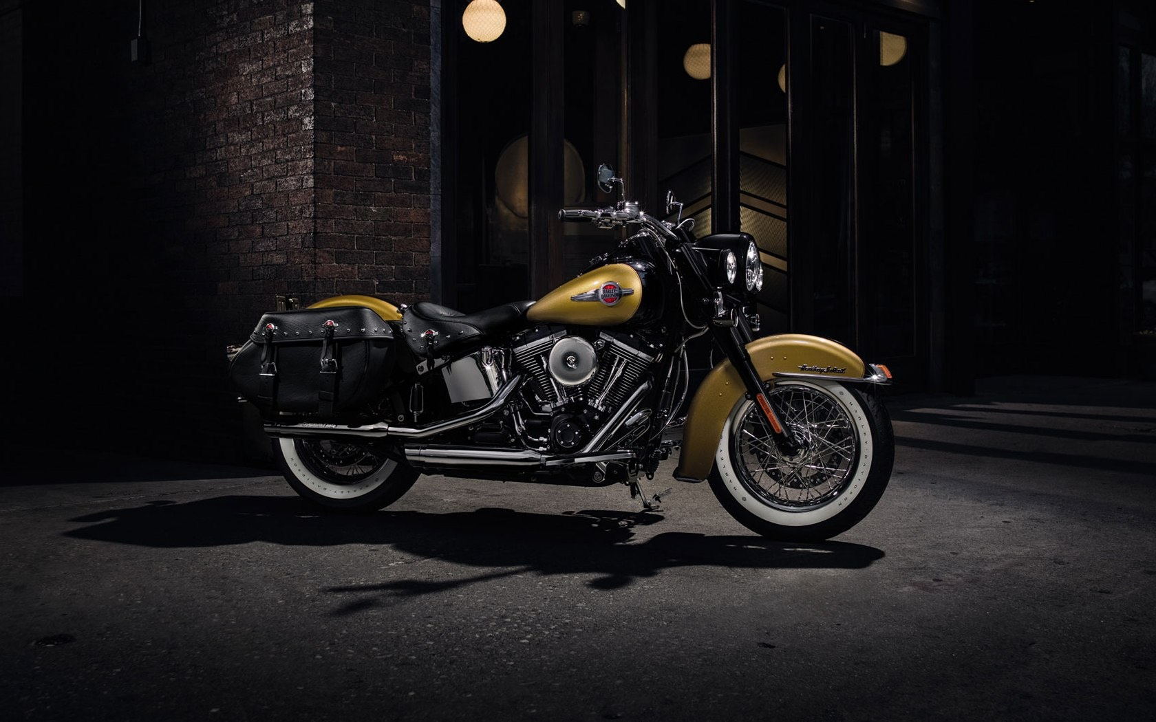 Harley-Davidson Heritage Softail Classic 2017 Wallpapers ...