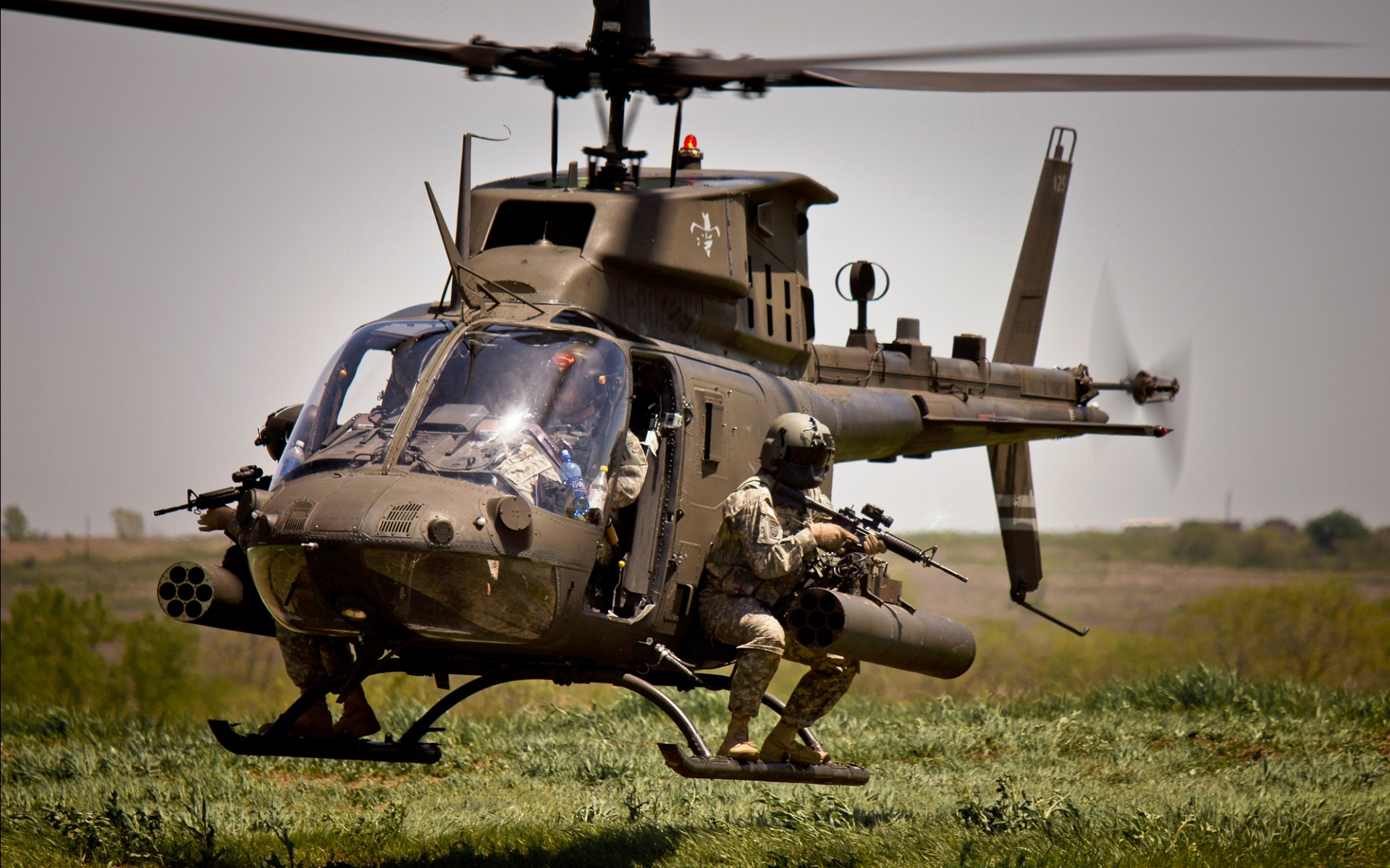 Helicopter Army Soldiers Wallpapers