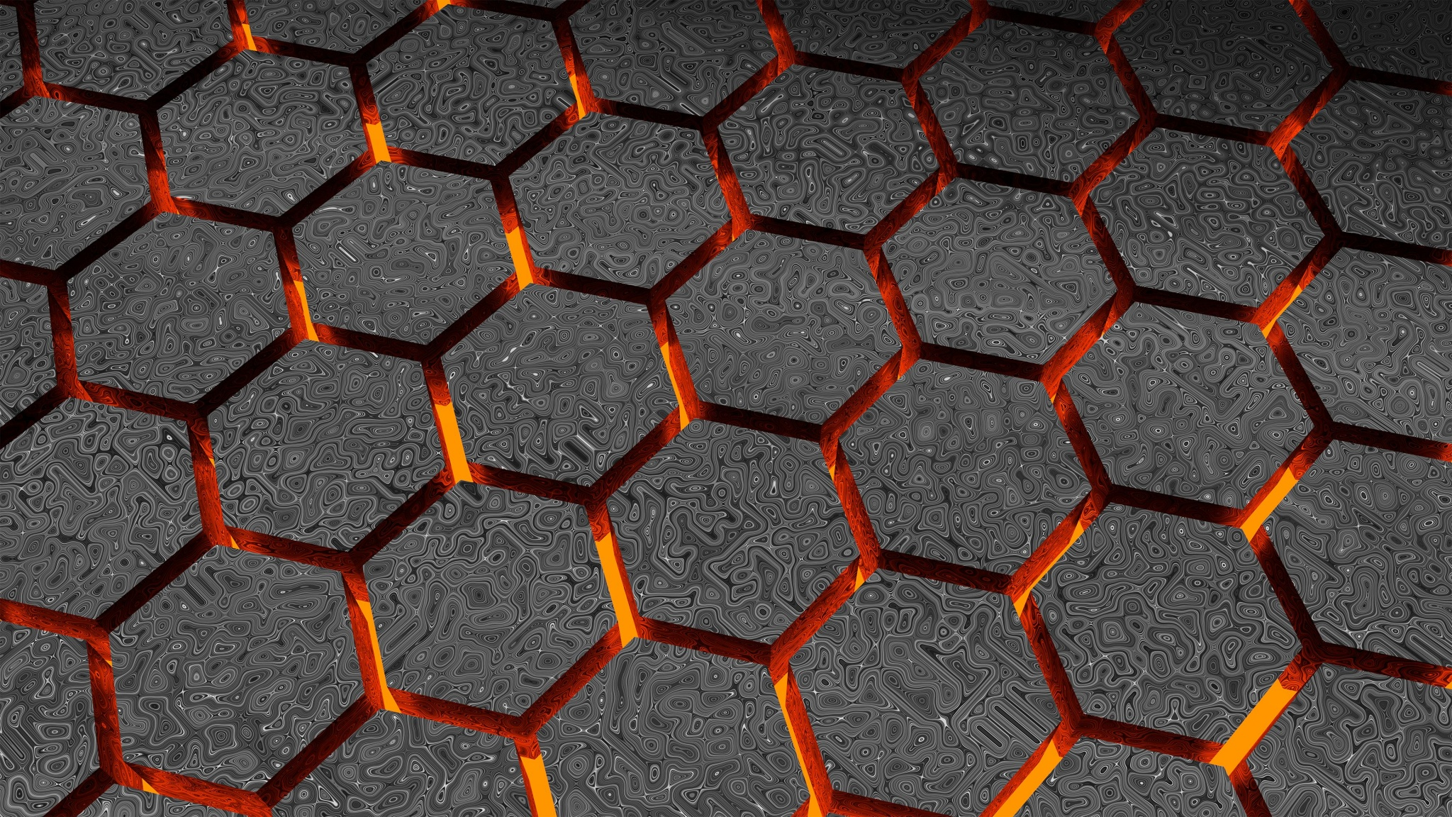 Hexagon Pattern Texture Wallpapers 2048x1152 1433640