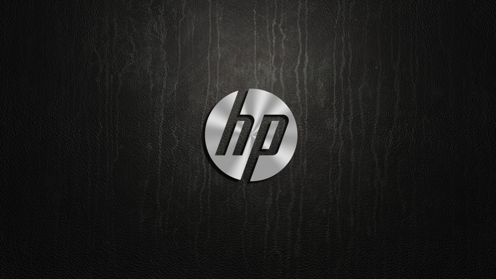 hp metal logo wallpapers - 1600x900 - 466327