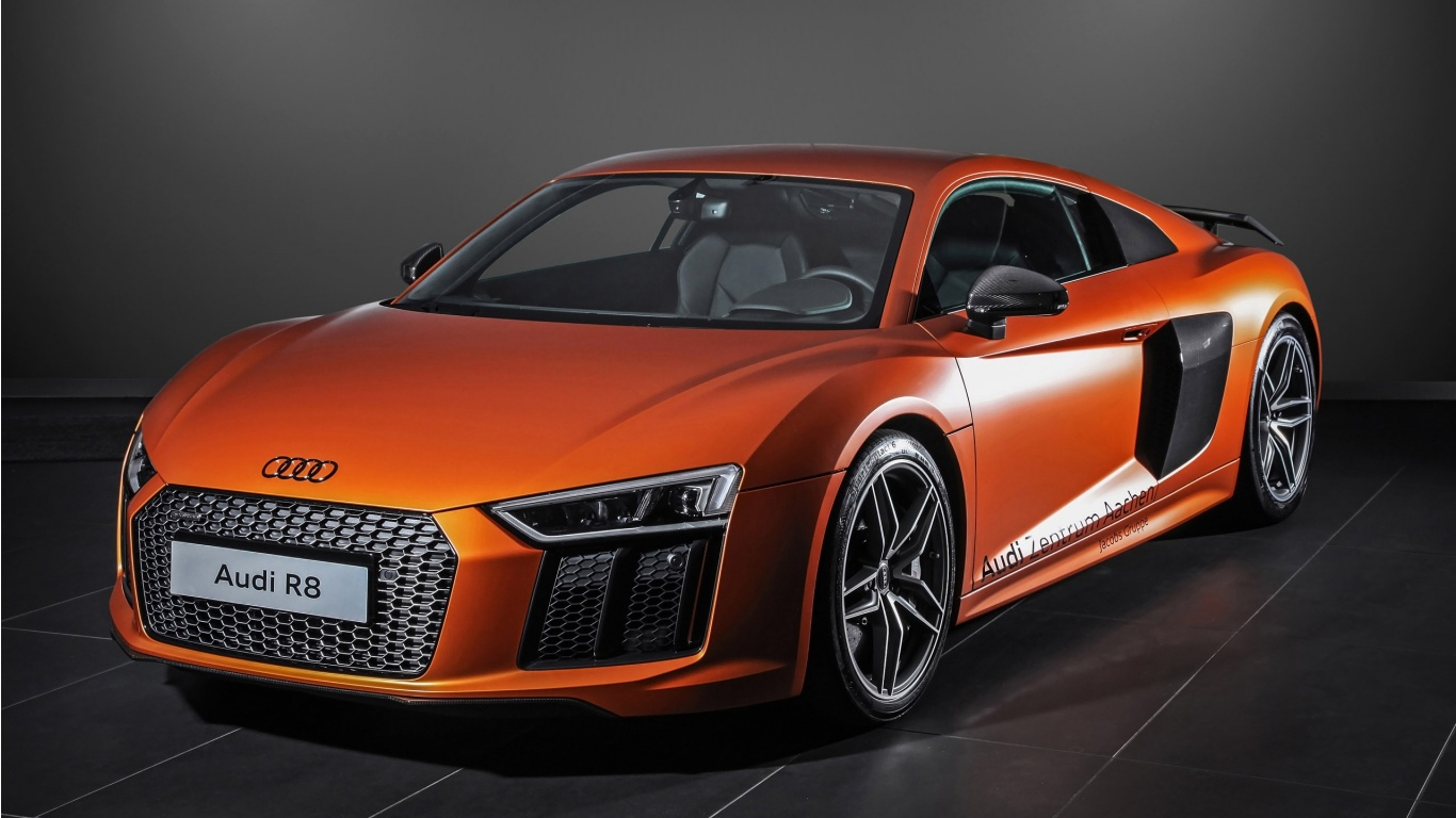 Hplusb Audi R8 2015 Wallpapers 1366x768 244654