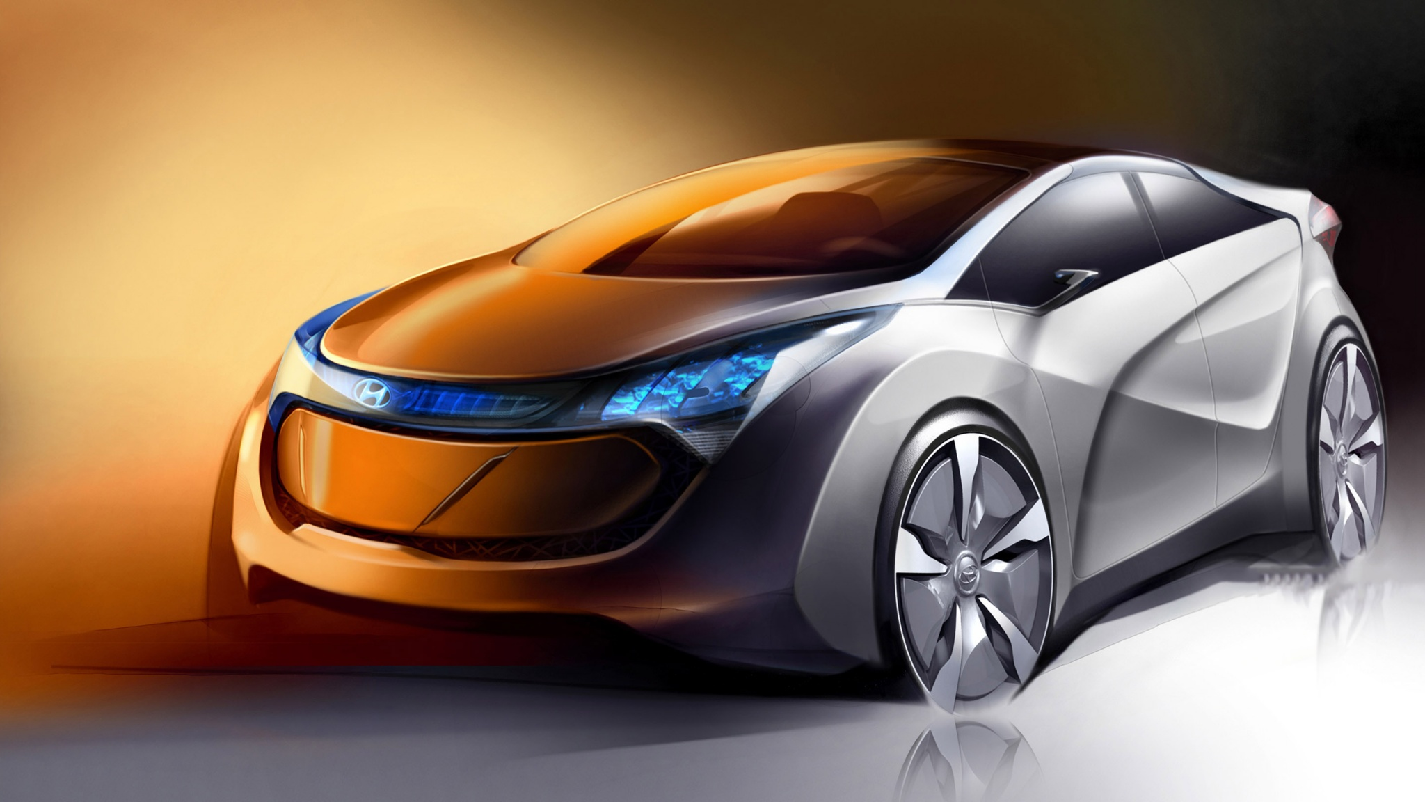 Cars On Line >> Hyundai Future Cars Line-Up Until 2018 Wallpapers - 2048x1152 - 390537
