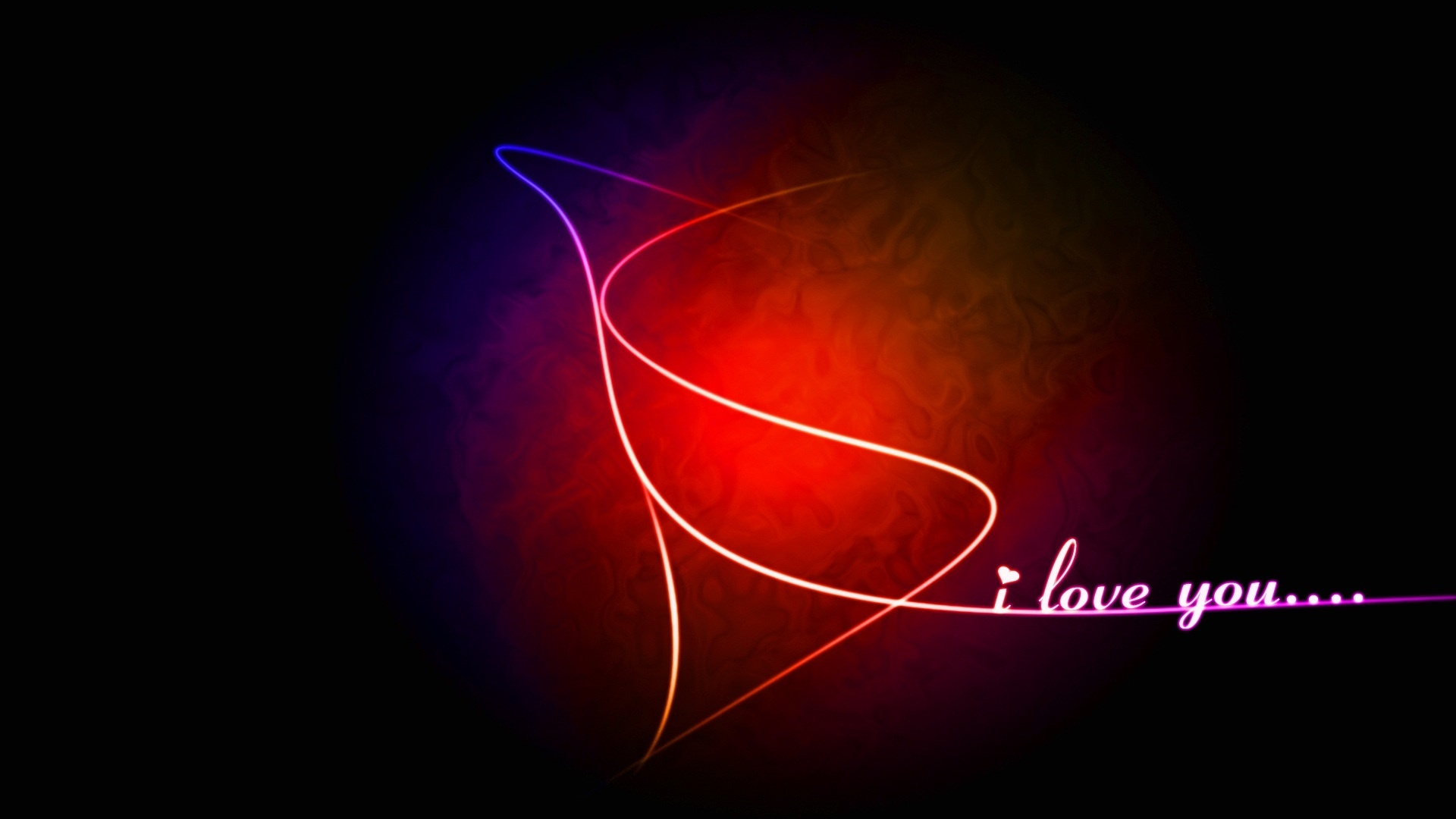 Love Wallpapers 1080x1920 : I love you In Abstract Wallpapers - 1920x1080 - 181127