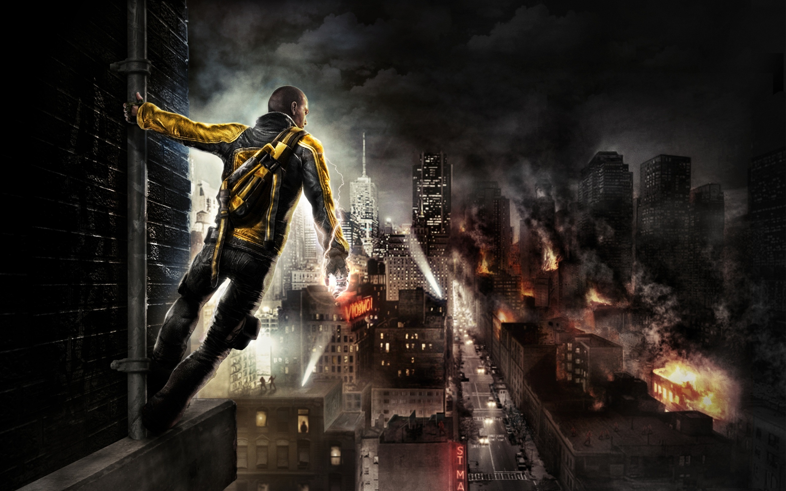 Infamous 2 Adventure Video Game Wallpapers