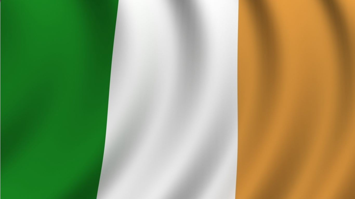 Ireland Flag Wallpapers  1366x768 108098