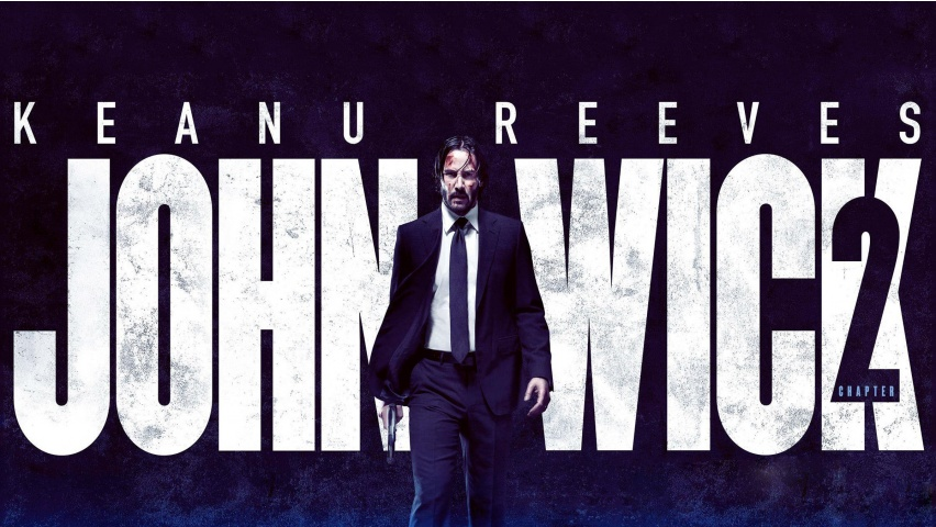 Keanu Reeves In John Wick Chapter 2 Wallpapers 852x480