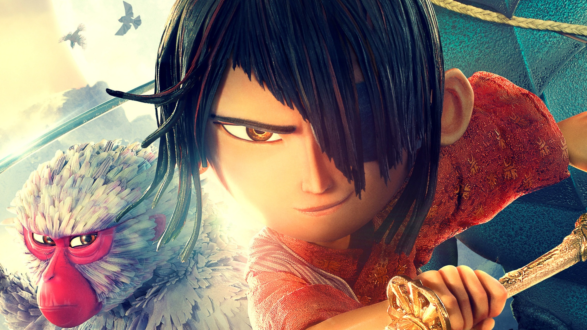 Kubo And The Two Strings 4k Wallpapers 2048x1152 994055