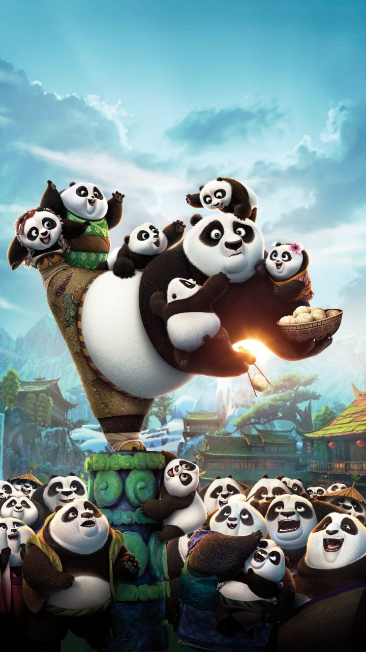 kung fu panda cute wallpaper